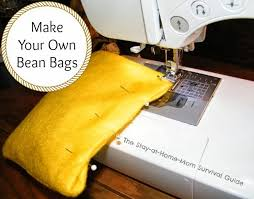 make your own bean bags with this diy bean bags sewing project that is simple