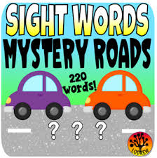 Word Cars Sight Word Centers Activities 220 Words Literacy Centers Cars