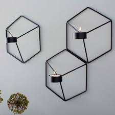 wall candle holder in decors