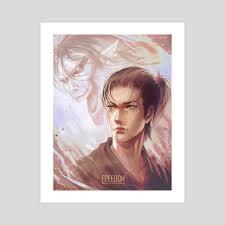 Image shared by ★ zukie ★. Eren Jaeger An Art Print By Gabriele Sousa Inprnt