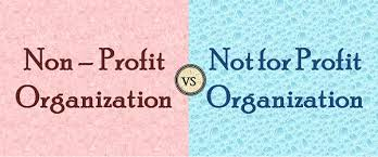 Difference Between Nonprofit And Not For Profit Organization