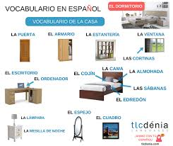 voary spanish bedroom