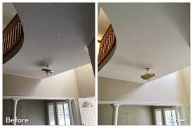 diy how to remove popcorn ceilings