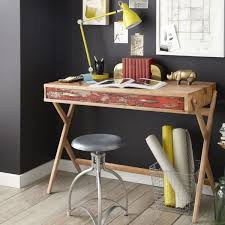 home office cool desks. delighful home reclaimed pine cross base desk if your place has a rustic and industrial  look this one made from reclaimed pine is solid option to home office cool desks