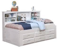 White bookcase storage bed Braden Totally Kids Fun Furniture Toys Addie Big Bookcase Storage Bed White