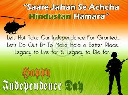 Independence Day Quotes Simple Independence Day 48 Best Quotes SMSes Wishes To Share On