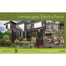 Landscape Deck And Patio Designer Amazon Com Encore Software Punch Landscape Deck Patio