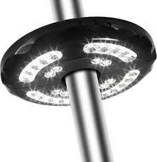 28 led lantern poles umbrella light