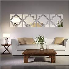 By now you already know that, whatever you are looking for, you're sure to find it on aliexpress. Amazon Com 20pcs Set Geometric Art 3d Acrylic Mirror Wall Sticker Home Decor Diy Kitchen Living Room Tv Background Decoration 20x80cm Home Kitchen