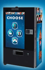 New Vending Machines Technology Fascinating Look Out It's ComingThe New Pepsi Interactive Vending Machines