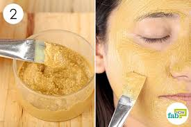 apply this face mask 3 to 4 times a week to get smooth glowing skin