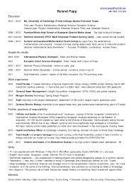 Physical Education Teacher Resume samples   VisualCV resume     sample resume format Simple CV Template PDF