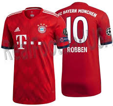 Authentic Leagu – Uefa Realfootballusa Arjen Champions Robben Bayern net Match Munich Adidas
