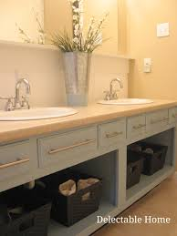 interior design for remove the doors and repaint an old bathroom