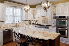 Recessed Kitchen Cabinets Tuscan Antique White Kitchen Cabinets Jennair Appliances With