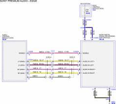 audio wiring diagram for 2011 edge w sony 12 speaker & nav audio Wiring Diagram Ford Edge sony premium audio edge wiring diagram for edge tuner