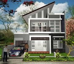 18 model rumah modern 2 lantai terbaru 2017 desain rumah