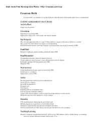 C Section Birth Plan Nursing Care Plan On Cesarean Birth