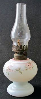 milk glass miniature oil lamp base 4 1 8 h mini hurricane lamps