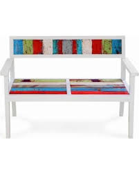 eco chic furniture. EcoChic Bay Dreamer Reclaimed Wood Bench, Multi, Patio Furniture Eco Chic A