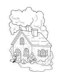 Het Huisje Van Oma Roodkapje Kleurplaat