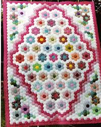 67 best Hexie Quilts images on Pinterest | Hexagons, Hexagon ... & About the Garden Path - Kingston Heirloom Quilters Adamdwight.com