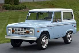 The Current Average Value Of A First-generation Ford Bronco In Perfect  Condition Is $47,025, According To Hagerty, Up From $23,400 Five Years Ago. :