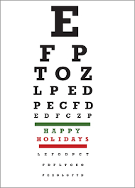 Optometrist Christmas Cards Personalized For Your Business