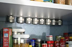 Kitchen Spice Organization Gaining Kitchen Storage From Thrifty Decor Chick