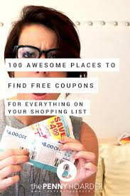 Downloadable Coupons The 99 Best Places To Get Free Digital And Printable Coupons