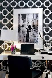 chic home office decor: graphic impact bcf hbz homeoffice  atmosphere interior design d m images lg