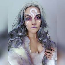in the west i am ina to his ani in the east farya to his cosplay makeupbrand