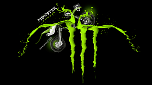 monster energy logo acid kawasaki