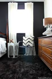 office bed. Masculine Bedroom + Office Makeover Full Source List / Black And White Bed