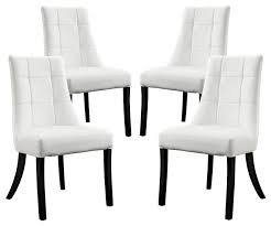 dining chairs set of 4. Set Of 4 Dining Chairs Within Noblesse Vinyl Chair In White Cheap Wooden Inspirations 0 X