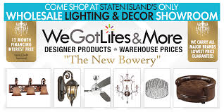 We Got Lights Staten Island Ny Showroom