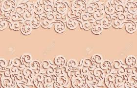 A Vector Floral Swirls Decoration Abstract 3d Background For