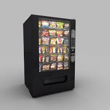 Vending Machine 3d Inspiration Vending Machine 48D Models For Download TurboSquid