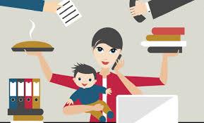 Balancing Work And Family Career Mom Balancing Between Work And Family