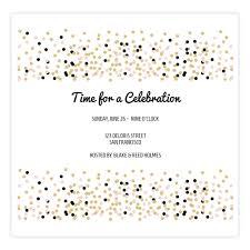 New Invitation Series Confetti Celebration Sendo Online Invitations