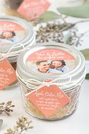 Fall Wedding Favor Apple Cider Mix Wedding Favors Cheap Inexpensive Wedding Favors To Make Yourself
