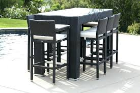 patio furniture bar set table bar stool set best of bar patio furniture modern outdoor bar