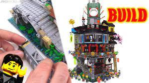 Time-lapse ⏩ LEGO Ninjago City BUILD 70620 - YouTube