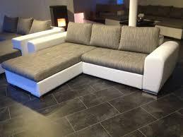 Sofa 270 Cm Weiss Grau