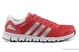 adidas red shoes. be216975 adidas red/white climacool modulate running shoes red