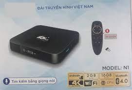 SCTV Android Box Cao cấp - Tặng Remote Voice Search ( Điều khiển giọng nói  1 chạm, Kết nối Bluetooth không dây, Hình ảnh 4K ) - Giải trí không giới  hạn,