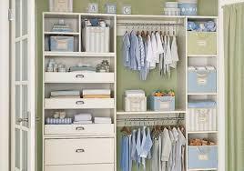 image of useful baby closet organizer ideas