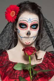 día de los muertos make up
