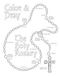 Catholic Our Father Coloring Pages Bltidm