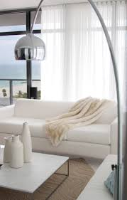 Elegant White Tripod Floor Lamp With Grey Carpet For Contemporary Contemporary Lamps For Living Room